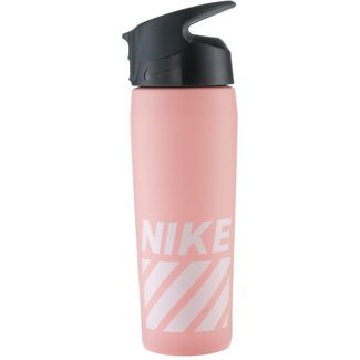 Nike SS Hypercharge Straw Trinkflasche storm pink-cool grey