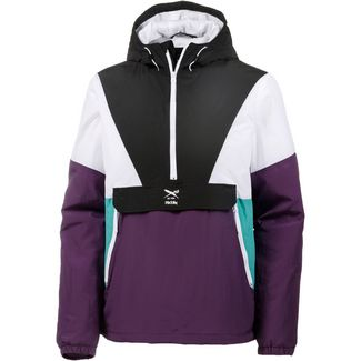iriedaily Get Down Pull Up Windbreaker Herren dark purple