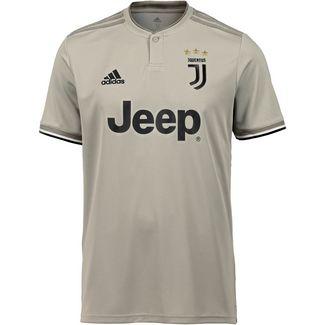 adidas Juventus Turin 18/19 Auswärts Fußballtrikot Herren sesame