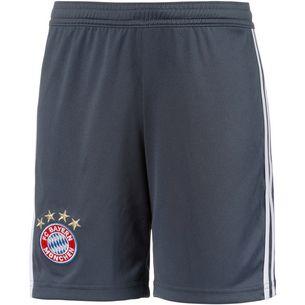 adidas FC Bayern 18/19 CL Fußballshorts Kinder utility blue