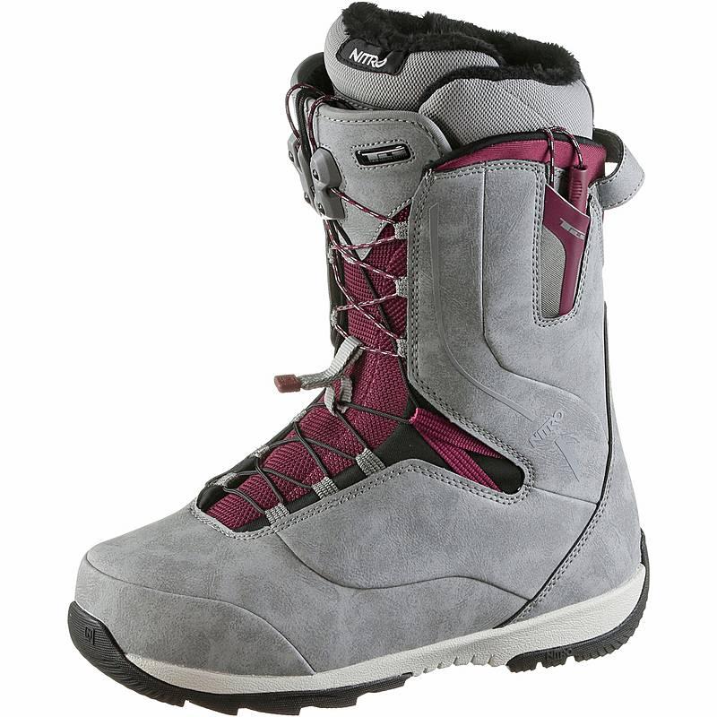 Nitro Snowboards Crown Snowboard Boots Damen Grey Im Online Shop Von