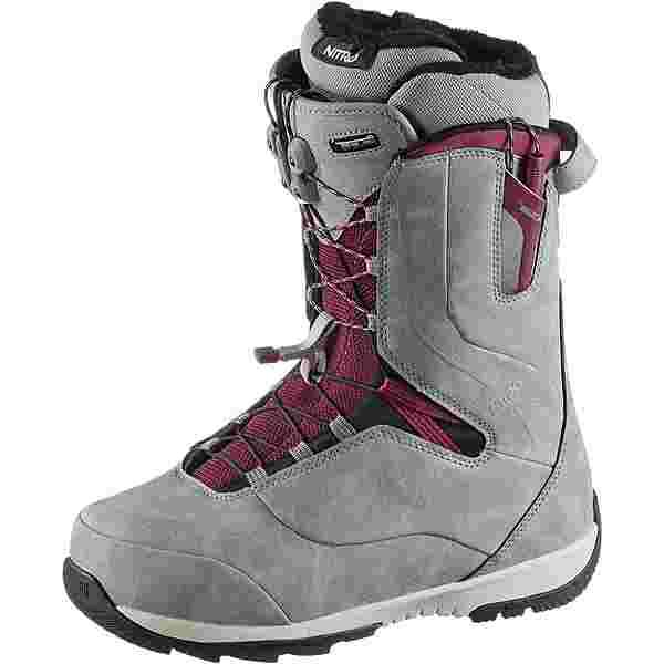 Nitro Snowboards Crown Snowboard Boots Damen grey