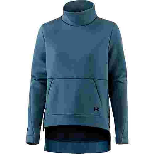 Under Armour Move Sweatshirt Damen static blue-static blue-tonal