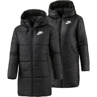 Nike Parka Damen BLACK/WHITE