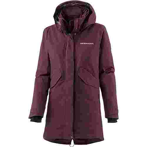 Didriksons 1913 Tanja Parka Damen wine red