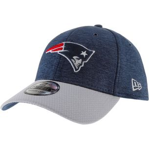 New Era 39Thirty New England Patriots Cap blue-grey