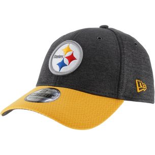 New Era 39Thirty Pittsburgh Steelers Cap black-yellow
