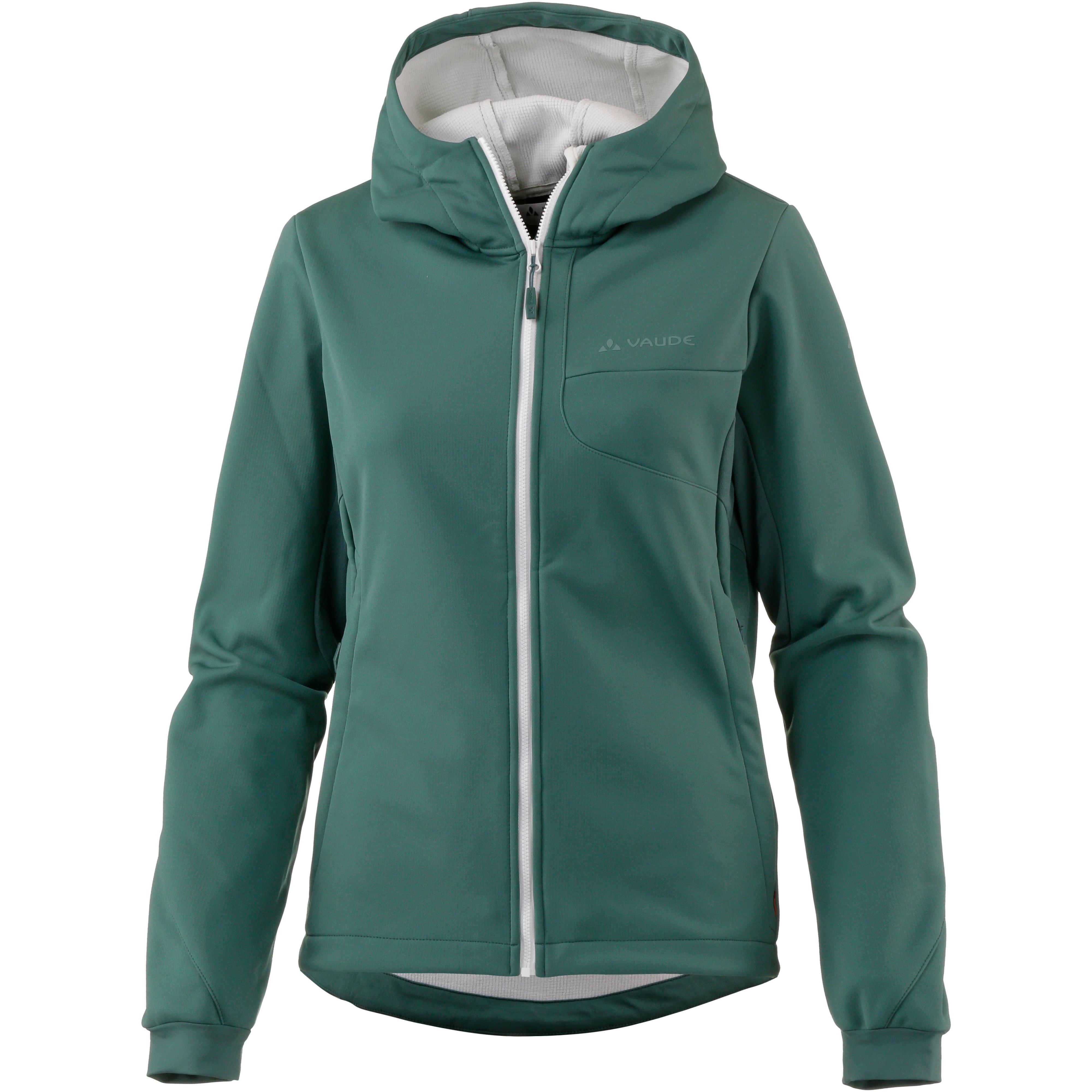 vaude jacken jetzt im sportscheck online shop kaufen  vaude wo chiva softshell jacket iii softshelljacke damen eucalyptus