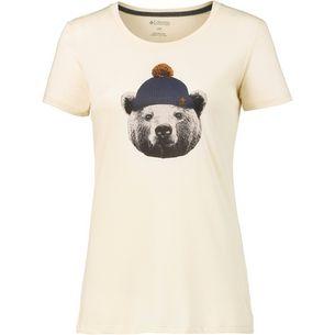 Columbia UnBearable T-Shirt Damen LightBisque Heather