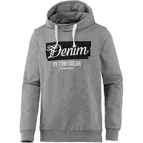 TOM TAILOR Hoodie Herren heather grey melange
