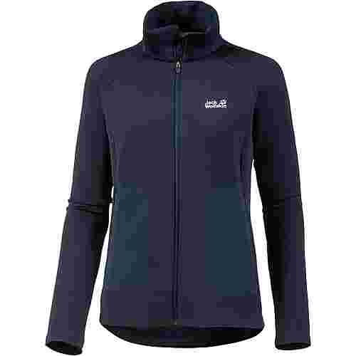 Jack Wolfskin Narvik Trail Fleecejacke Damen midnight blue