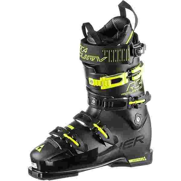 Fischer RC4 CURV 120 VACUUM FULL FIT Skischuhe Herren schwarz/gelb
