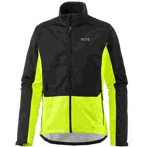 GORE® WEAR R3 WINDSTOPPER® Classic Thermo GORE-TEX® Laufjacke Herren black-neon-yellow