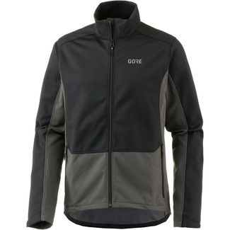 GORE® WEAR R3 WINDSTOPPER® Classic Thermo GORE-TEX® Laufjacke Herren black-terra-grey