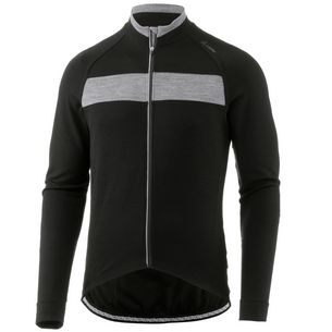 Löffler Merino Fahrradtrikot Herren schwarz