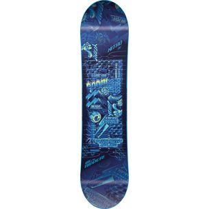 Nitro Snowboards Ripper`17 All-Mountain Board Kinder blau