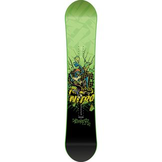Nitro Snowboards Ripper`17 All-Mountain Board Kinder grün