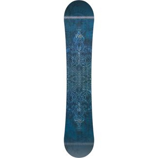 Nitro Snowboards Mystique All-Mountain Board Damen blau-weiss