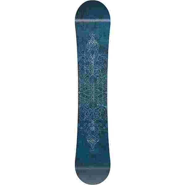 Nitro Snowboards Mystique All-Mountain Board Damen blau-weiss