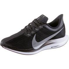 Nike ZOOM PEGASUS 35 TURBO Laufschuhe Damen black-vast grey-oil grey-gunsmoke
