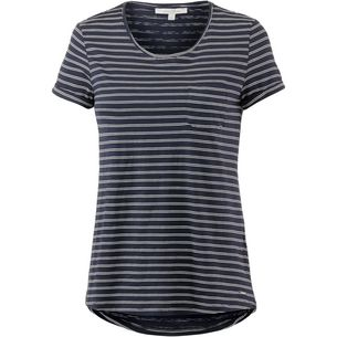 TOM TAILOR T-Shirt Damen irregular blue stripe