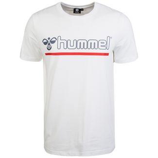 hummel Hml Brick T-Shirt Herren weiß / blau / rot