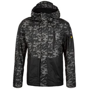 Lyle & Scott Casuals Zip Through Outdoorjacke Herren schwarz / anthrazit