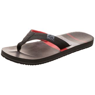 more photos 8fe12 3175a Reef HT Prints Sandalen Herren schwarz   rot
