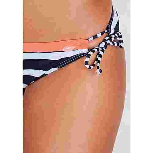 KangaROOS Bikini Hose Damen marine-weiß