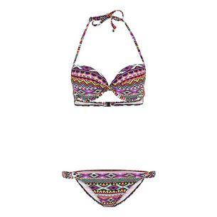 Lascana Bikini Set Damen bunt bedruckt