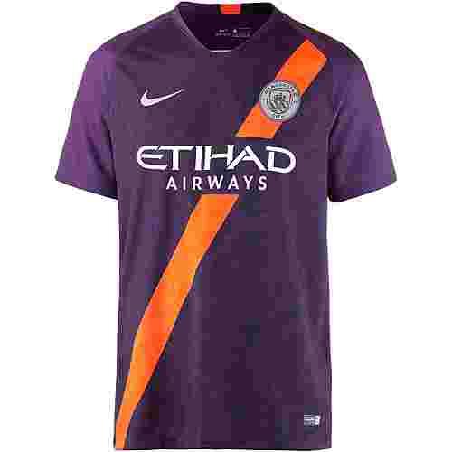 Nike Manchester City 18/19 CL Fußballtrikot Herren night purple-reflective silv