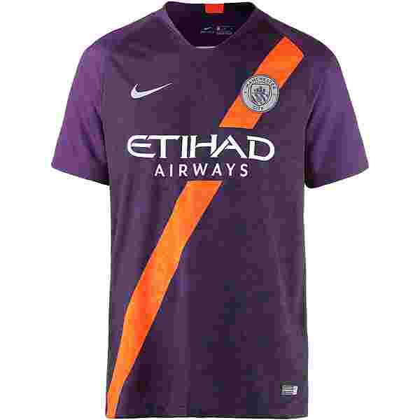 Nike Manchester City 18/19 CL Trikot Herren night purple-reflective silv