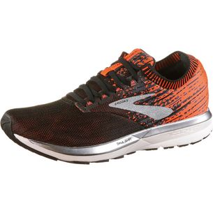 Brooks Ricochet Laufschuhe Herren black-orange-ebony