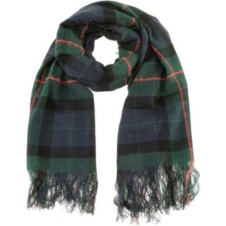 TOM TAILOR Schal Damen blue green check
