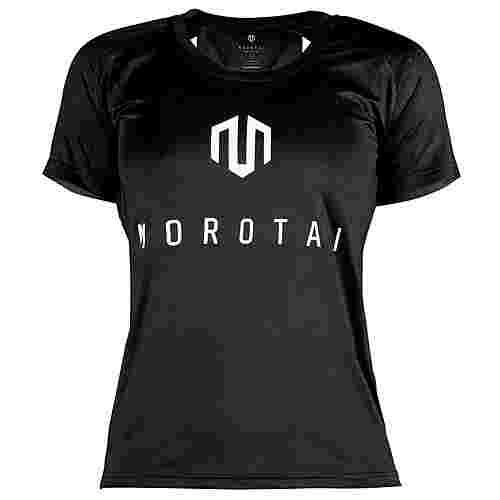 MOROTAI Performance Basic Eye T-Shirt Damen Schwarz