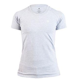 MOROTAI Basic Logo Shirt T-Shirt Damen Hellgrau