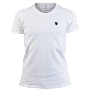 MOROTAI Basic Logo Shirt T-Shirt Damen Weiß