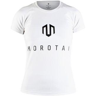 MOROTAI Premium Basic Brand T-Shirt T-Shirt Damen Weiß / Schwarz