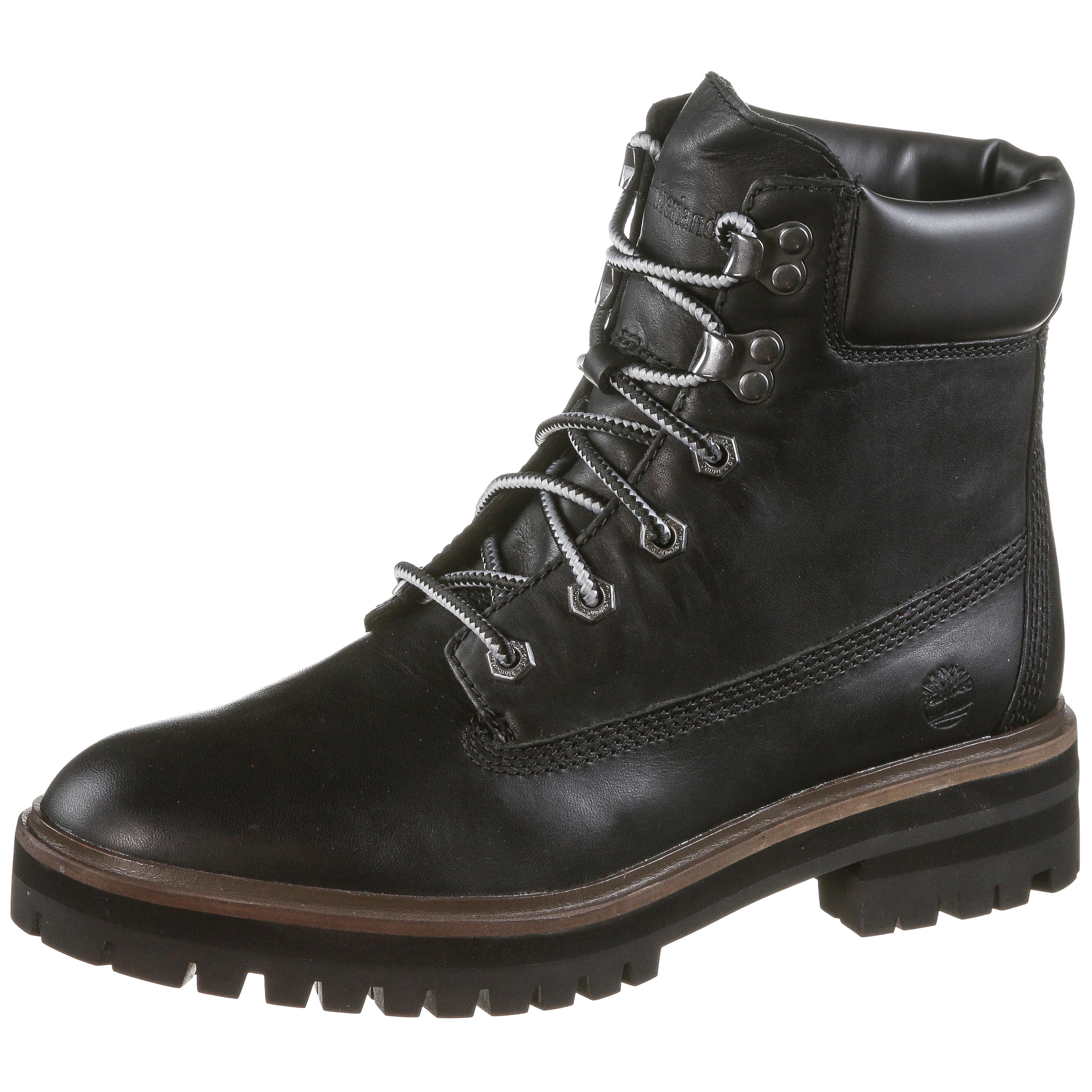 more photos 24545 870d9 TIMBERLAND London Square Boots Damen black im Online Shop von SportScheck  kaufen