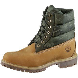 TIMBERLAND 6 Inch Premium Puffer Boots Herren beige-camouflage