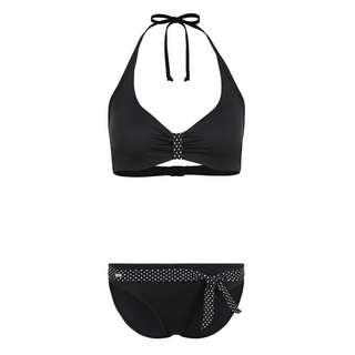 Buffalo Bikini Set Damen schwarz