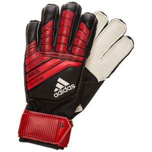 adidas Predator Fingersave Torwarthandschuhe Kinder schwarz / rot / weiß