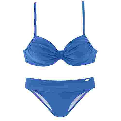 Lascana Bikini Set Damen hellblau