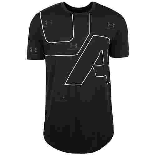 Under Armour HeatGear 5th Ave Funktionsshirt Herren schwarz / weiß
