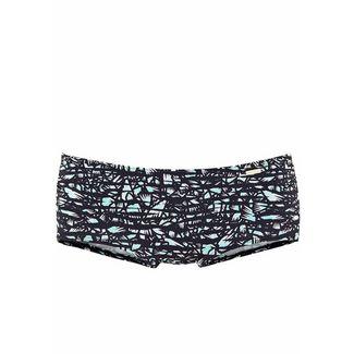 sunseeker Bikini Hose Damen schwarz bedruckt