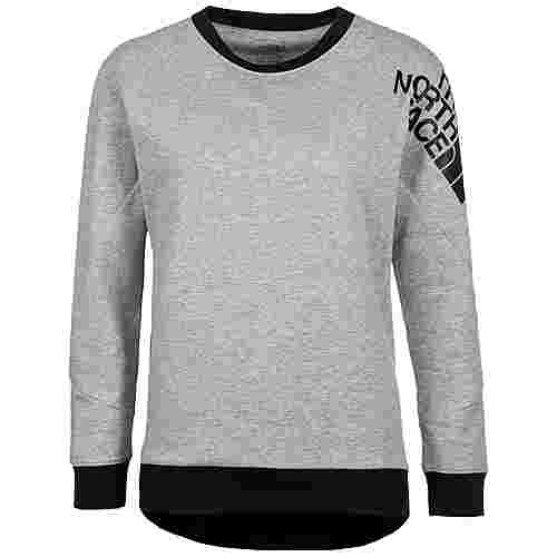 The North Face N Logo Sweatshirt Damen grau