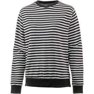 O'NEILL Sweatshirt Damen black aop w- white