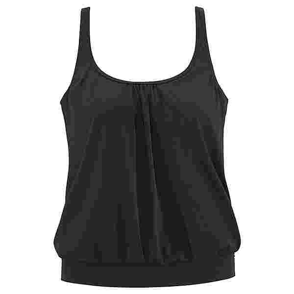 Lascana Bikini Oberteil Damen schwarz