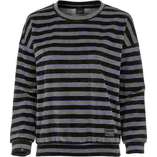 iriedaily Sweatshirt Damen black anthra