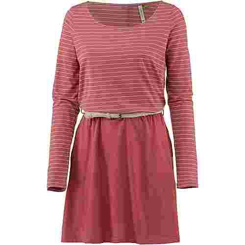 Ragwear Daya Jerseykleid Damen dusty red